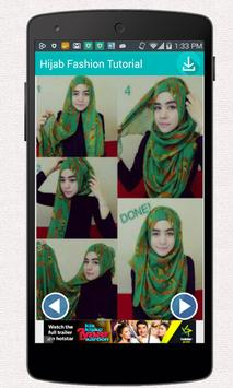 Hijab Fashion Tutorial apk screenshot