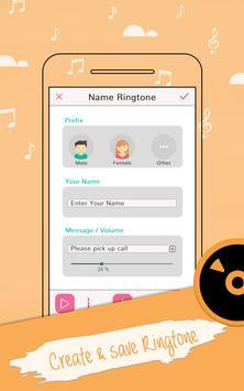 My Name Ringtone Maker poster