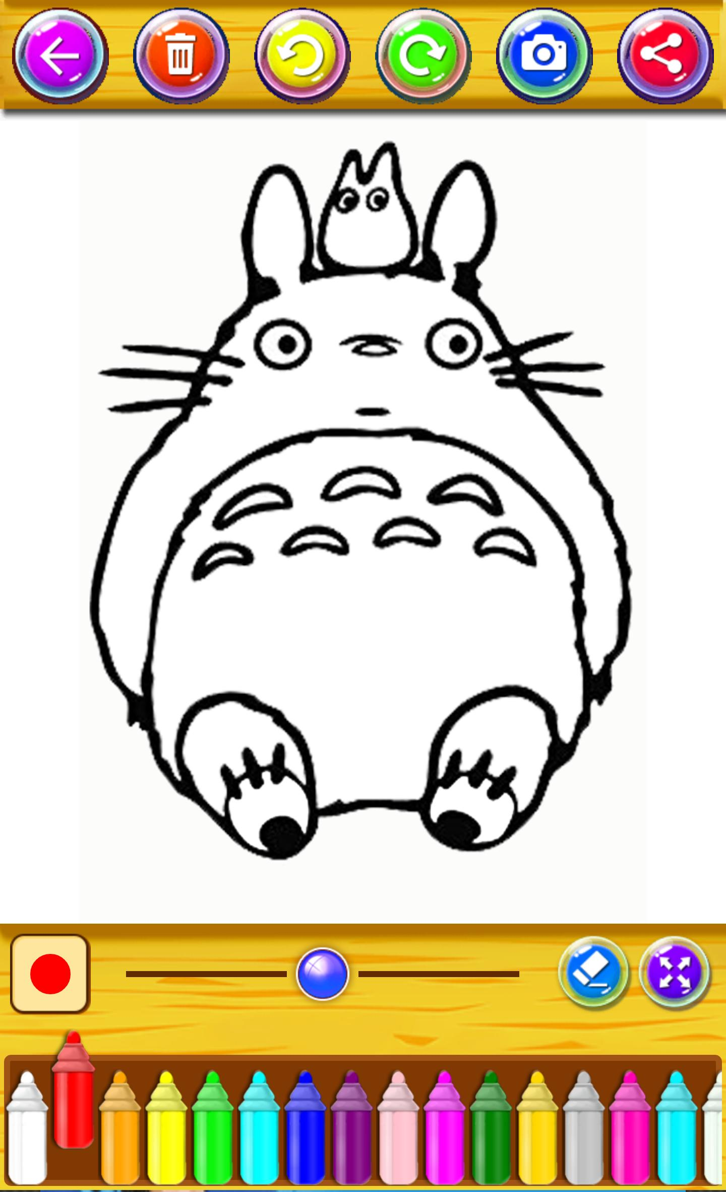 Coloring Totoro For Kids 2018 For Android APK Download