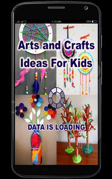 Arts and Crafts Ideas for Kids poster