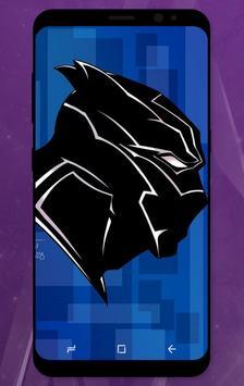 Black Panther HD Wallpaper screenshot 1
