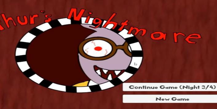 Arthur Nightmare Adventure poster