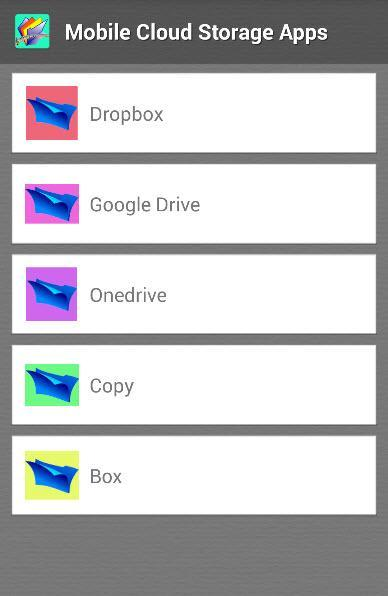 mobile cloud storage apps for Android - APK Download