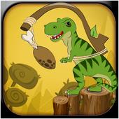 Dinosaur Jump 2D - Free icon