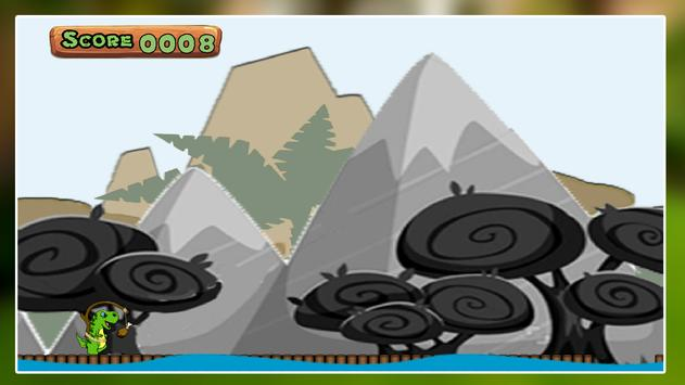 Dinosaur Jump 2D - Free screenshot 1