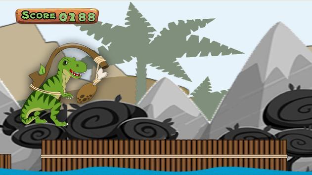Dinosaur Jump 2D - Free screenshot 2