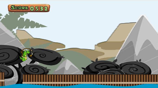 Dinosaur Jump 2D - Free screenshot 4