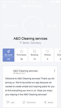 A&O Cleaning services screenshot 1