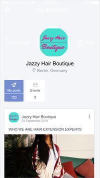 Jazzy Hair Boutique screenshot 1