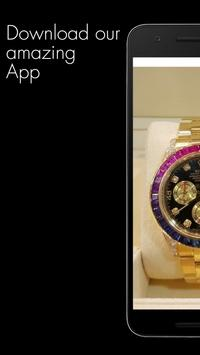 Luxury Watches israel poster