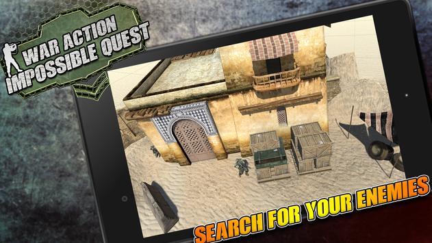 War Action: Impossible Quest apk screenshot