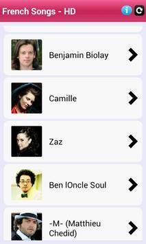 French - Songs HD apk screenshot