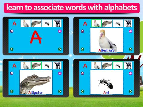 Kids Animal ABC Alphabet sound screenshot 7