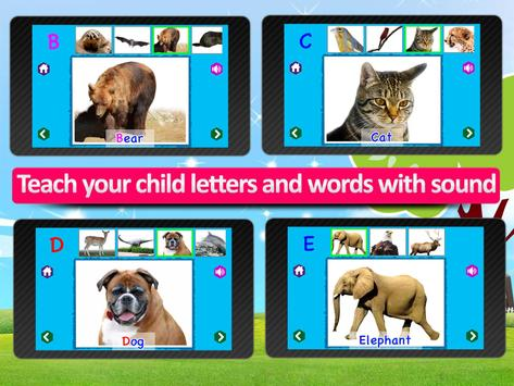 Kids Animal ABC Alphabet sound screenshot 9