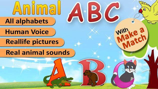 Kids Animal ABC Alphabet sound screenshot 12