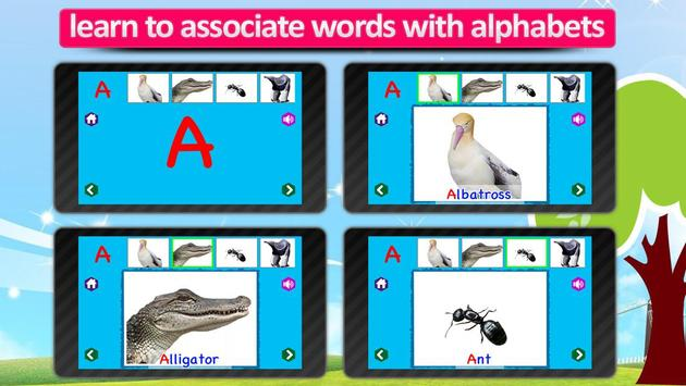 Kids Animal ABC Alphabet sound screenshot 14