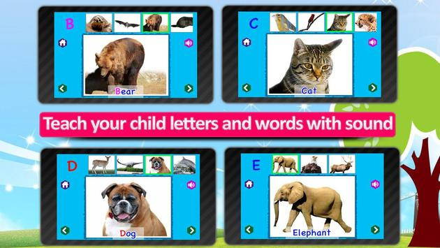 Kids Animal ABC Alphabet sound screenshot 15