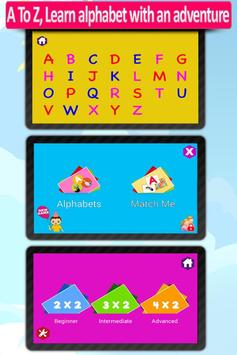 Kids Animal ABC Alphabet sound screenshot 1