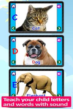 Kids Animal ABC Alphabet sound screenshot 3