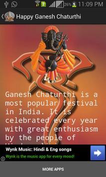Ganesh Chaturthi Greeting Card poster