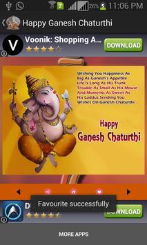 Ganesh Chaturthi Greeting Card screenshot 1