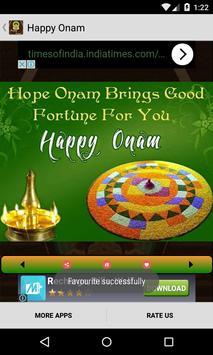 Happy Onam Greetings скриншот 4