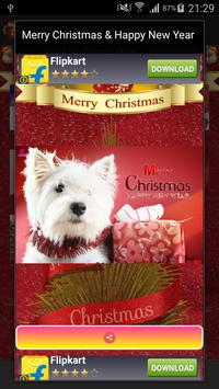 Merry Christmas Greeting Cards apk screenshot