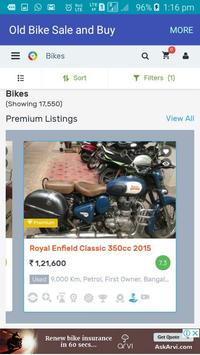 Old Bike Sale and Buy screenshot 3