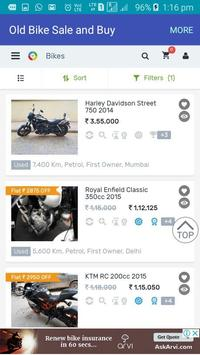 Old Bike Sale and Buy –Used Bike, Second Hand Bike screenshot 2