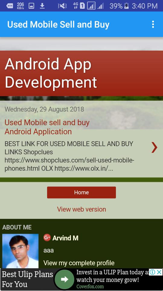 Old Mobile –Second Hand mobile Sell and Buy for Android - APK Download