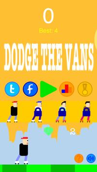 DODGE THE VANS - HD apk screenshot
