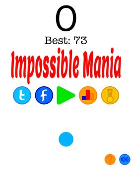 Impossible Mania poster