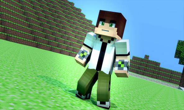 Skin Ben For Minecraft PE For Android APK Download - Skins para minecraft pe ben 10