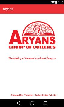 Aryans Group of Colleges poster