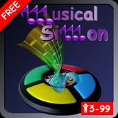 Musical Simon Free icon