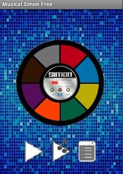 Musical Simon Free apk screenshot