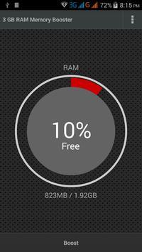 3 GB RAM Memory Booster poster