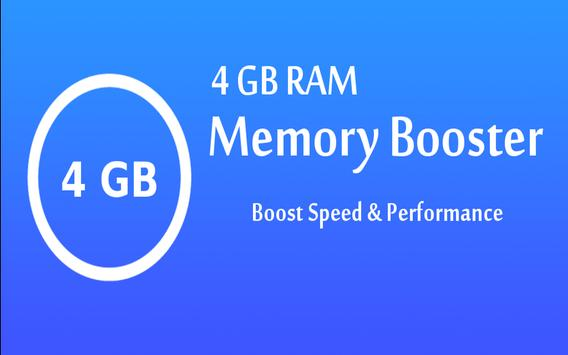 4 GB RAM Memory Booster apk screenshot