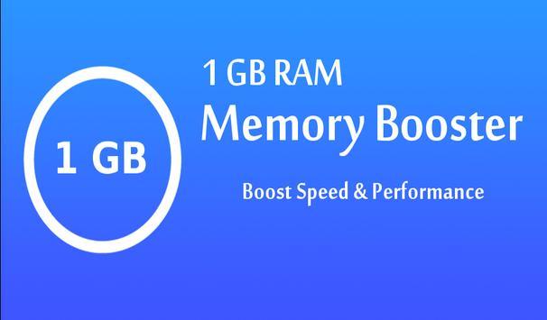 1 GB RAM Memory Booster apk screenshot