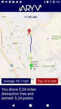 Aryv - The Safe Driving App apk screenshot