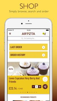 ARYZTA Food Solutions poster