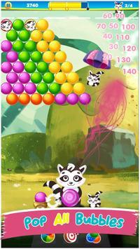 Kitty Pop Bubble Shooter screenshot 1