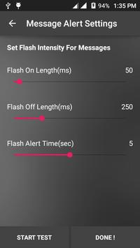 Flash Alerts On Call And SMS screenshot 6