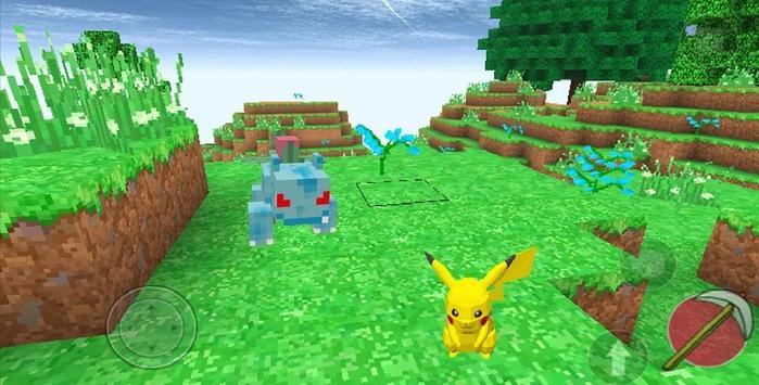 Pixelmon mod craft apk screenshot