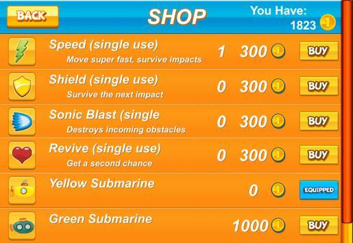 Submarine Sea Adventure apk screenshot