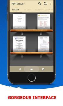 8 Schermata Visualizzatore PDF & Lettura Libri PDF, PDF Viewer