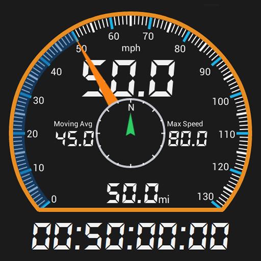 GPS HUD  (抬頭顯示) 車速表 免費版