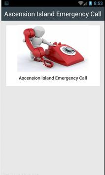 Ascension Island EmergencyCall poster