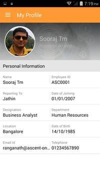 mPowerHR - HCM on Cloud apk screenshot