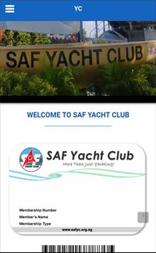 SAF Yacht Club poster